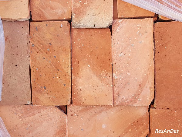 Fußboden Ziegel ~ Terracotta fliesen alte ziegelplatten historische baustoffe
