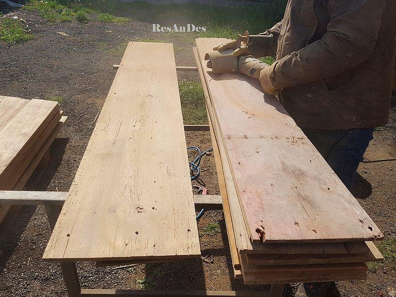 Alte Holzdielen kaufen | Historische Baustoffe - ResAnDes