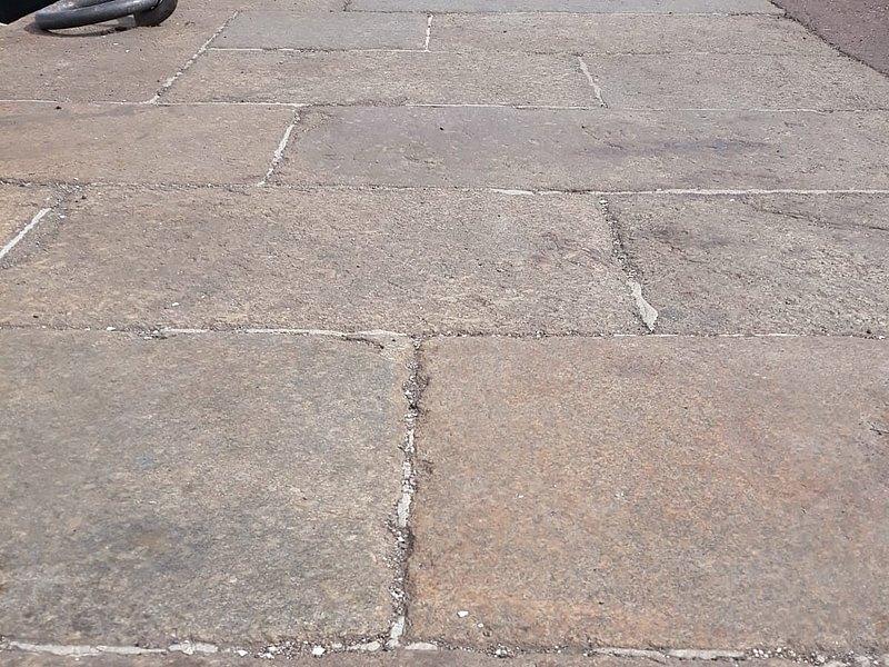 Alte Granitplatten Granitpflaster Historische Baustoffe Resandes