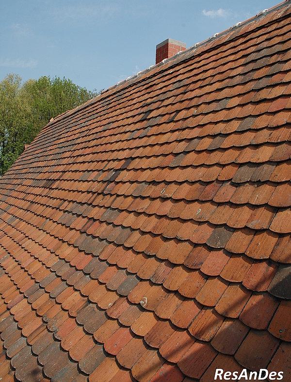 Alte Dachziegel kaufen | Historische Baustoffe - ResAnDes