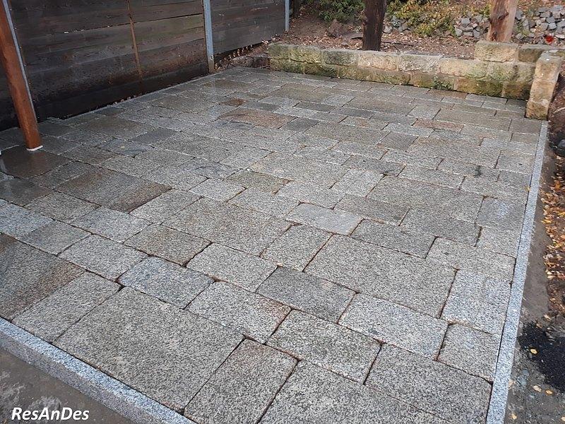 Alte Granitplatten Pflaster Kaufen Historische Baustoffe Resandes