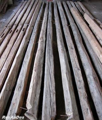 Balken nadelholz resandes historische baustoffe - Alte holzbalken kaufen ...